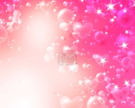 Soft romantic background