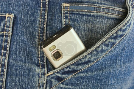Phone in your pocket jeans