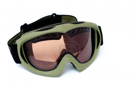 Snowboard goggles isolated