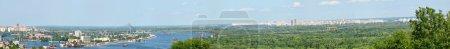 Kiev cityscape panorama