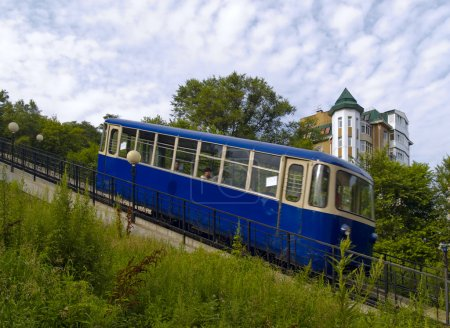 The Coach of funicular railway