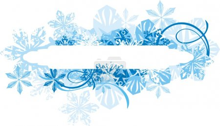 Vector banners for winter.