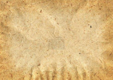 Photo pour Texture détaillée du vieux papier froissé - image libre de droit