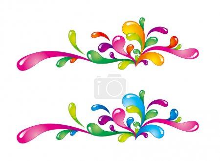 Colorful splashes-2
