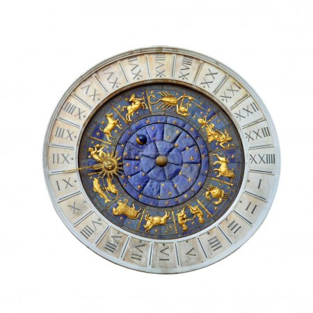 Astronomical clock in Venice, Italy