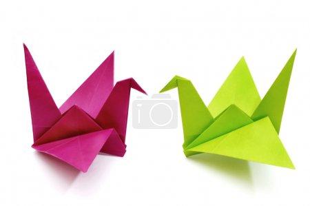 Foto de Pájaros de origami - Imagen libre de derechos