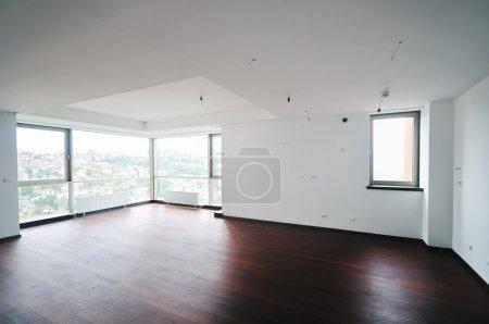 Empty big new apartment