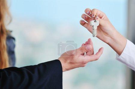 nouvelles clés de maison