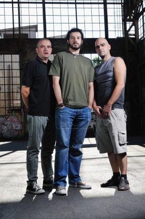 Music band trio