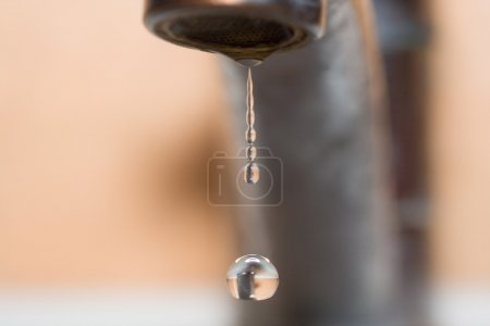 Drop of water from faucet 2