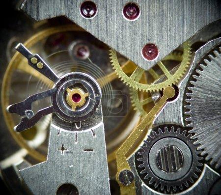 Super macro clock mechanism 1