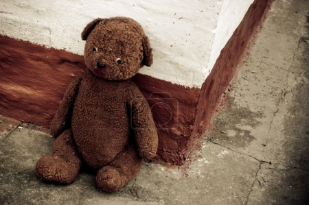 Photo for A soft bear old toy - Royalty Free Image