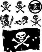 Pirátství známky