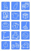Baby shop icons 1