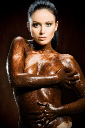 Chocoate woman