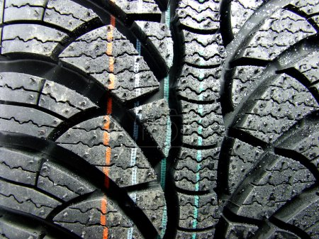 Photo for Car tyre - Royalty Free Image