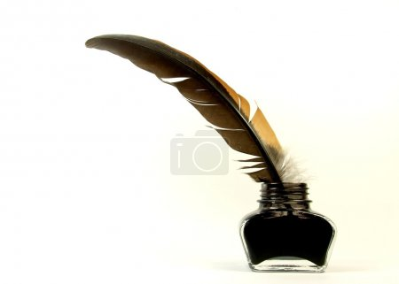 Photo for Old quill pen - Royalty Free Image