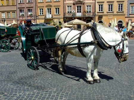 Photo for Warsaw Old Town, Poland - Royalty Free Image