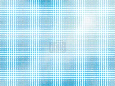 Blue abstract mosaic background...