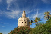 Tower of gold in Seville, Spain.