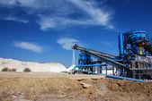 Salt production in Spain.