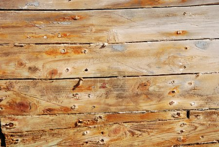 Detail of old wood planks