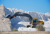 Salt mine and machinery