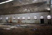 Abandoned empty warehouse.