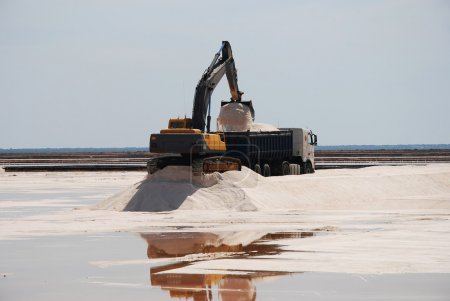 Salt mines, production - Spain
