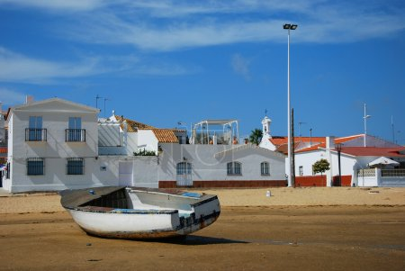 Houses i fishing boat - Costa de la Luz
