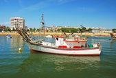 Fishing boat in Spain