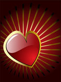 Vektorové Valentýnské srdce