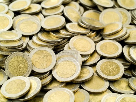 Euro money twenty euros bills