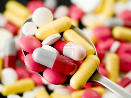 Medikamentenpillen