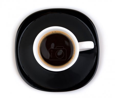 Coffe cup with clipping path