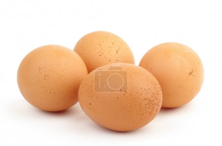 Photo for Four eggs isolated - Royalty Free Image