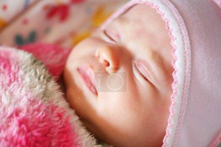 Peaceful sleeping baby
