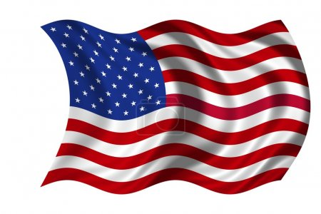 Photo for National Flag USA - Royalty Free Image