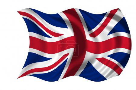 Waving flag United Kingdom