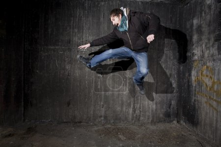 Jump - breakdance concept