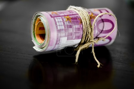 Euro money - bank notes