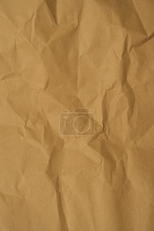 Photo pour Fond de papier froissé avec des rides - image libre de droit