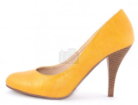 Photo for Isolated shoe over white background - Royalty Free Image