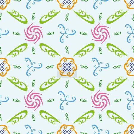 Ilustración de Resumen de patrones sin fisuras repetir - Imagen libre de derechos