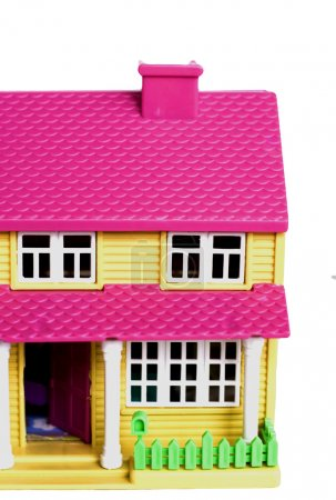 The cosy bright small toy house