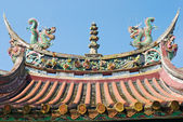 Chinese temple decorate