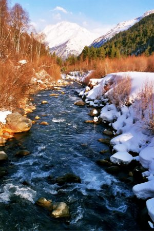 River Baksan.
