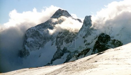 Mountain in Prielbruse.