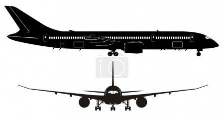 Vector Passenger Jet Boeing 787