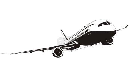 Vector Boeing-787 Jetliner